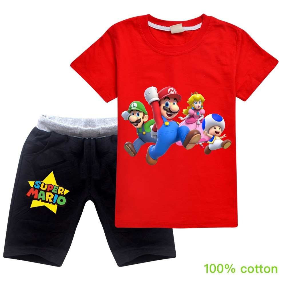New Toddler Boys Clothing Big Brother Little Brother Set Fashion Cotton T Shirt + Short Girls Boutique Outfits Girls Summer Tops
