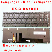 Backlit Keyboard P650RS P670SE CLEVO FOR P651/P650rs/P670rs/.. Original