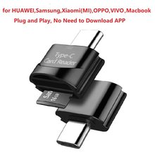 Type C to TF Card Reader Phone External Memory Type-C OTG Adapter for HUAWEI Macbook Samsung Xiaomi OppO Vivo Macbook картридер