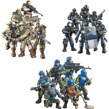 цены 6pcs/set WW2 Army Military Policeman Building Blocks France Italy Japan Britain China Small Soldier Officer Weapons Bricks Toy