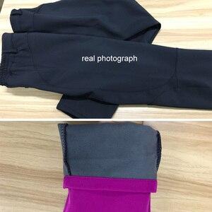 Image 5 - Lomaiyi暖かい女性の厚手のフリース裏地赤/黒パンツ熱女性のズボン防水女性パンツAW195