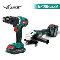 Brushless 20V Cordless Drill Electric Angle Grinder Cordless Drill Rechargeable Cordless Tools