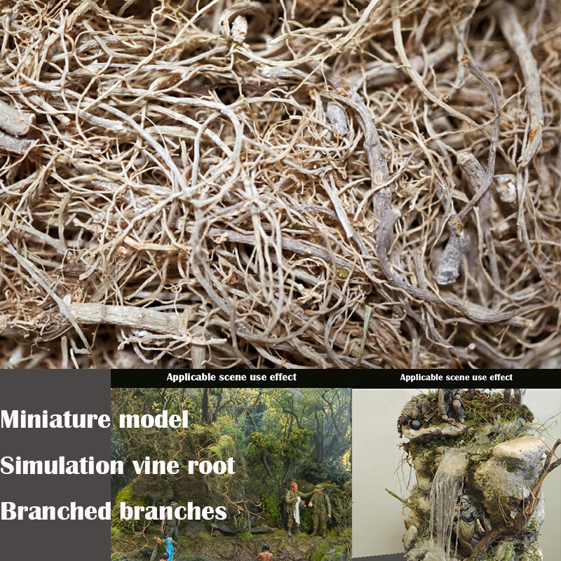 Miniature Model  Simulation Vine Root  Branched Branches  Sand Table Materials For DIY Model Platform Scene