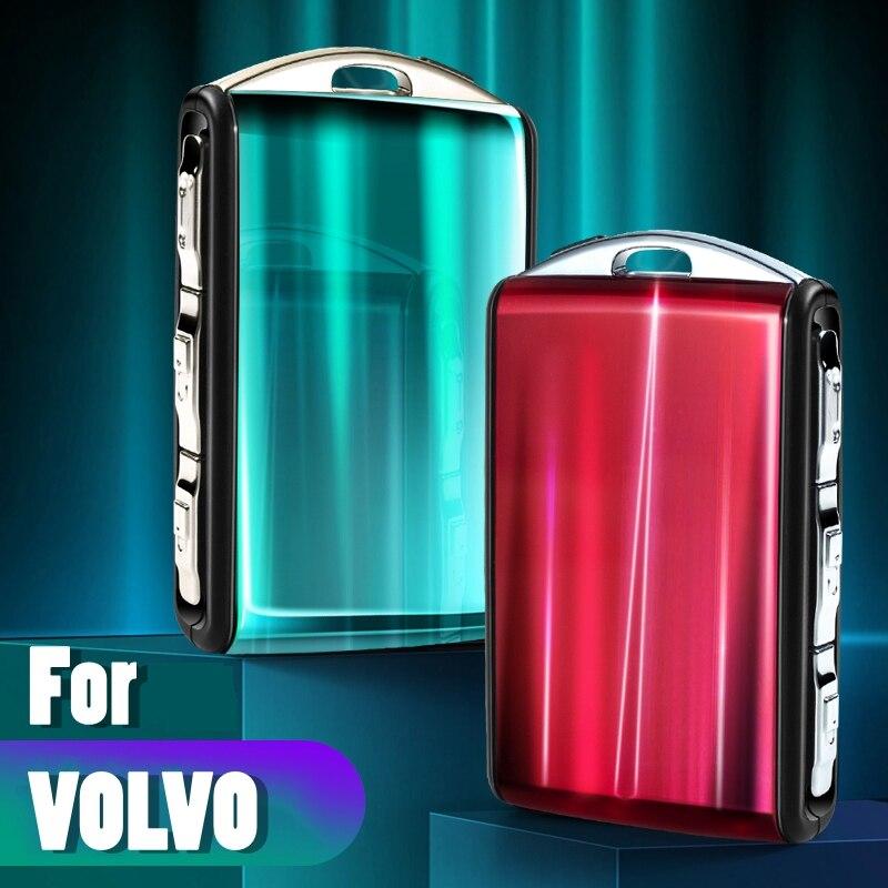 Защитный чехол для ключа из смолы для Volvo S90 XC90 XC40 XC60 T5 T6 T8 V90 Polestar 2 автомобильные аксессуары