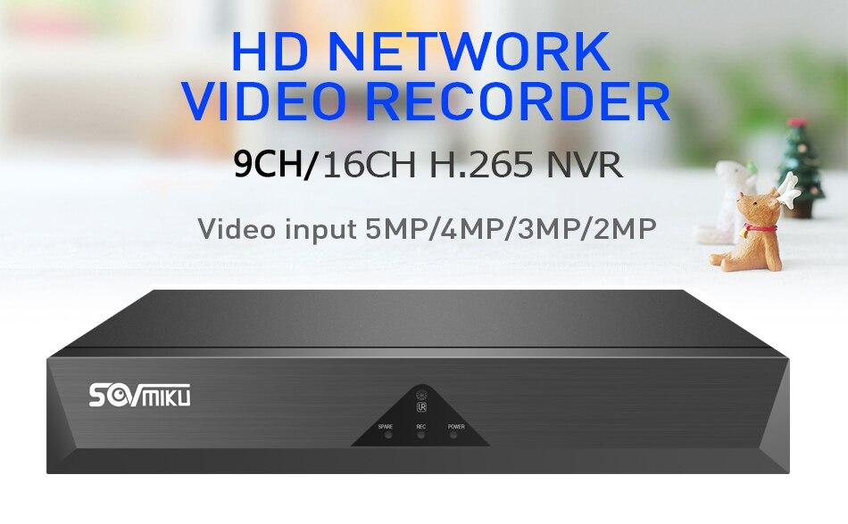 gravador de vídeo onvif p2p para o