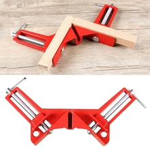 4PC Rugged 90 Degree Right Angle Clamp DIY Corner Clamps Quick Fixed Fishtank Glass Wood Picture Frame Woodwork Right Angle