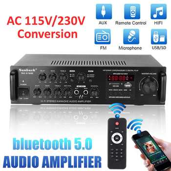 Усилитель мощности SUNBUCK TAV-6188E, Bluetooth, 5 каналов, AUX, USB, FM, SD 5