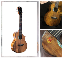 MrMai Ukulele MT-60 Tenor Solid Koawood Handcraft 4 Strings guitar Gloss Finish With Hardcase fd esp guitar hardcase wood made