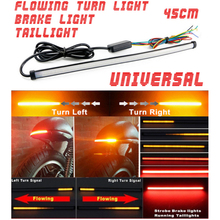 DRL Strobe Light Turn Signal Motorcycle Sequential Flowing Lamp DC 12-24V 6500 k