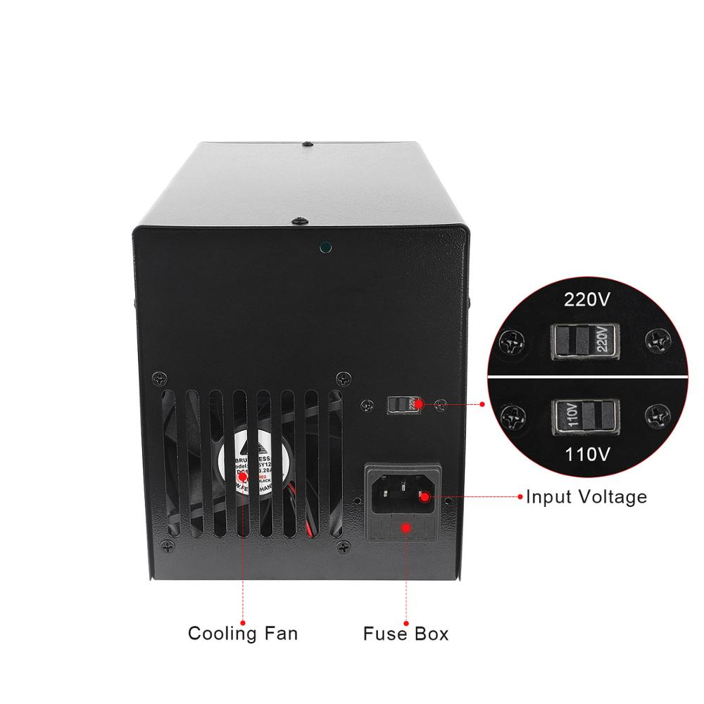 30V 10A LED Digital Display Labor Schalt Geregelte Netzteil labor Dc Verstellbare Sitzbank Quelle Dgital Spannung Regler