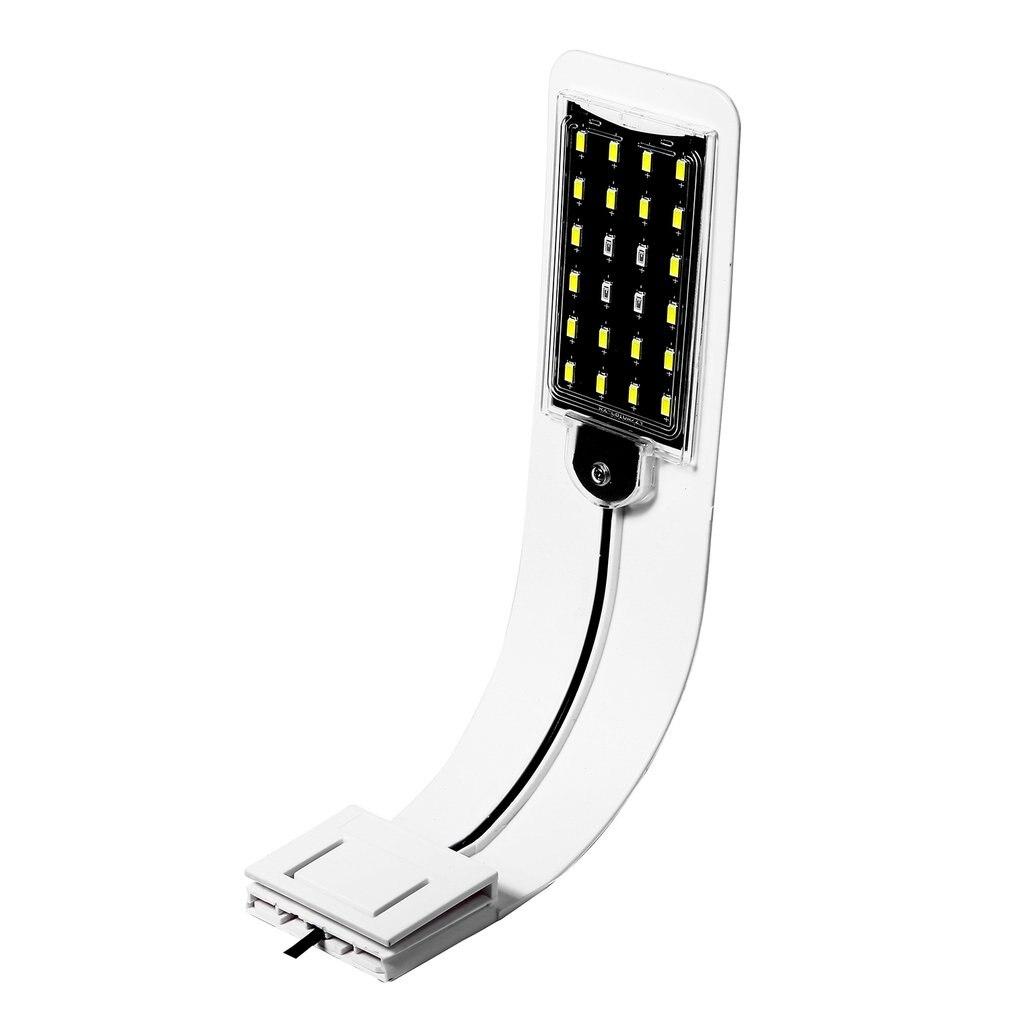 X5B, Европейский штекер, супер тонкий светодиодный светильник для аквариума, светильник для растений, лампа для водных растений, водонепроницаемая лампа с зажимом для аквариума