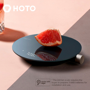 Image 1 - 2021 New Xiaomi HOTO Smart Kitchen Scale work with mijia APP Electronic Mini Mechanical Scale Food Weighing Measuring Tool