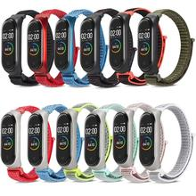 Nylon Loop Strap For Xiaomi Mi 4 Band Wrist band 3 bracelet Waterproof Miband smart watch