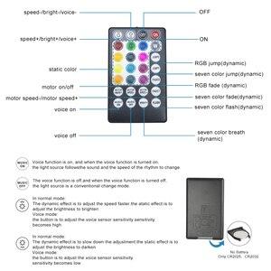 Image 4 - Bluetooth app 32w RGB Scintillio Fibra Ottica Cielo Stellato Effetto Kit Luce di Soffitto di 835 Fili *(0.75 millimetri + 1mm + 1.5mm)* 4/5M In Fibra Ottica