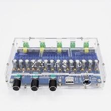 A310 Bluetooth 5.0 TPA3116 D2 carte amplificateur stéréo de puissance numérique 4 canaux 50Wx2 + 100Wx2 Module dampli de Subwoofer double basse