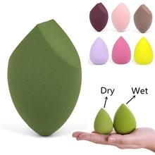 купить Multi Color Makeup Sponge Professional Cosmetic Puff for Smooth Liquid Foundation Concealer Cream Face Make Up Soft Sponge Puff дешево