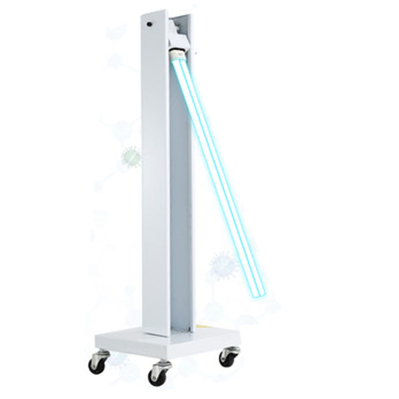 100W 150W  UV Disinfection Lamp Ultraviolet Lamps School Mobile Sterilization Lamp Factory Ozone Removal Mite Disinfection Lamp