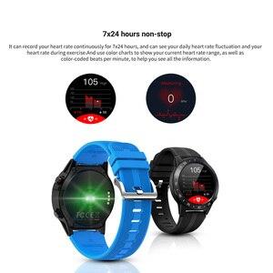 Image 2 - LEMFO ساعة ذكية لتحديد المواقع الرجال M5S 2G مقاوم للماء IP67 معدل ضربات القلب المقتفي ضغط الدم رصد بلوتوث المكالمات Smartwatch