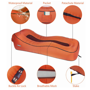Image 2 - BEAUTRIP Air Lounger Inflatable Lounge Sofa Bed Lazy Sleeping Beds Camping Beach Hangout Couch Waterproof Mattress Water Floats