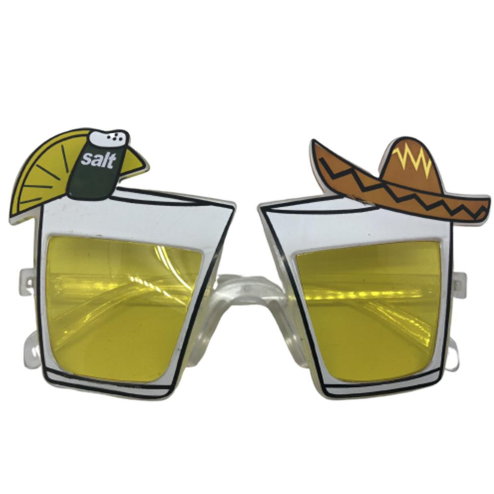 GloryStar Cocktail Party Oktoberfest Party Supplies Beer Festival Party Beer Glasses Funny Decoration Glasses