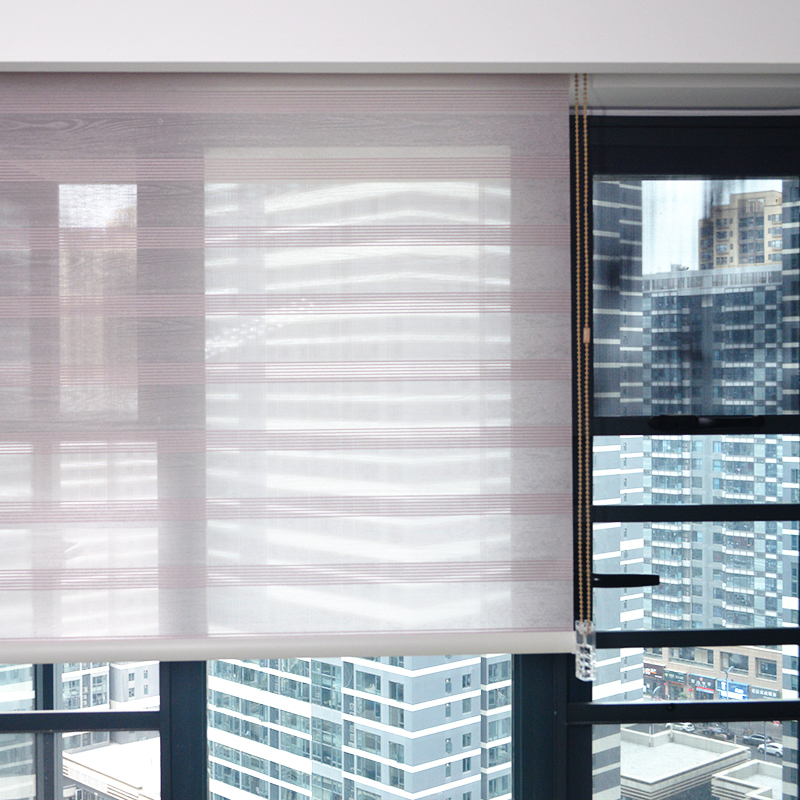 Smart Matters Quality Window Roller Blinds Shades Interior Colored Opaque Woven Fabric Motorized Curtains Livingroom Bedroom
