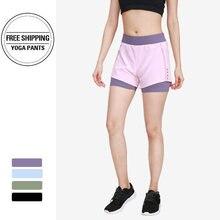 Спортивные шорты для женщин одежда ДЛЯ ФИТНЕССА костюм тренировки