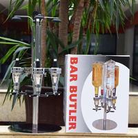 4 головки профессиональные настольные вращающиеся стеллажи вино пиво содовая кола, газированная вода диспенсер ликер бар-дворецкий диспен...
