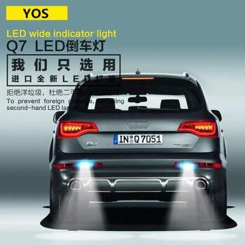 цена на Car Reversing light LED FOR Audi Q7  T15 9W  5300K Retreat Assist Lamp Q7 Car Light Refit