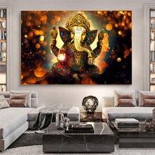 Классические Постеры на холсте с изображением богов индуистского