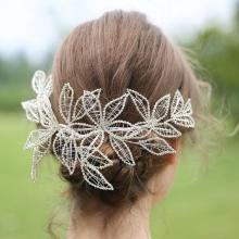 TRiXY H256-S Luxury Wedding Hair Accessories Hair Vine Bridal Ornaments Wedding Hair Jewelry Crowns and Tiaras Woman's Accessory