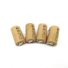 Wysokiej jakości bateria akumulator sub bateria SC bateria 1.2 v z zakładką 1500 mah dla/LED lub narzędzia elektryczne