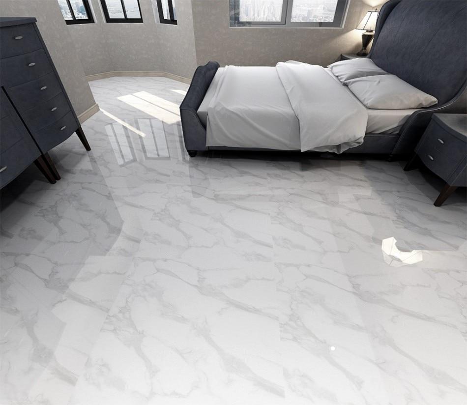 3d Flooring Painting  Flooring Papel De Parede 3d Flooring White Stone Floor Living Room Wall Bedroom Full-body Marble Floor