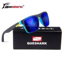 Поляризованные солнцезащитные очки queshark hd tr90 для рыбалки