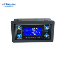 1Hz-150KHz LCD Digital Display PWM Pulse Frequency Duty Cycle Adjustable Square Wave Rectangular Wave Module Signal Generator