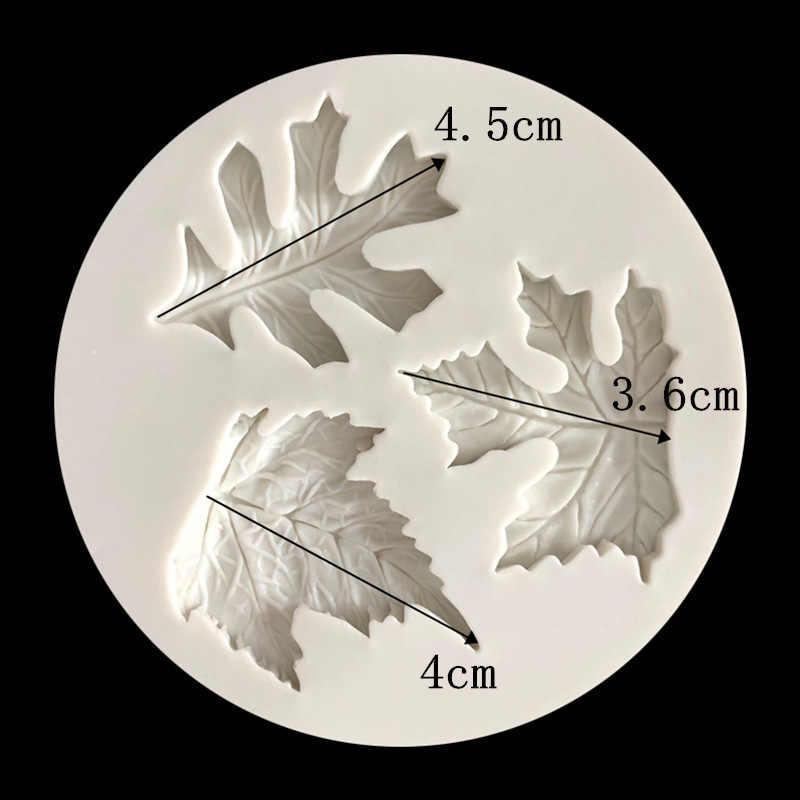 Epoxxy formy do formowania żywicy liść klonu silikonowy Panel ścienny 3d beton projektant DIY biżuteria wisiorek formy gipsowe formy