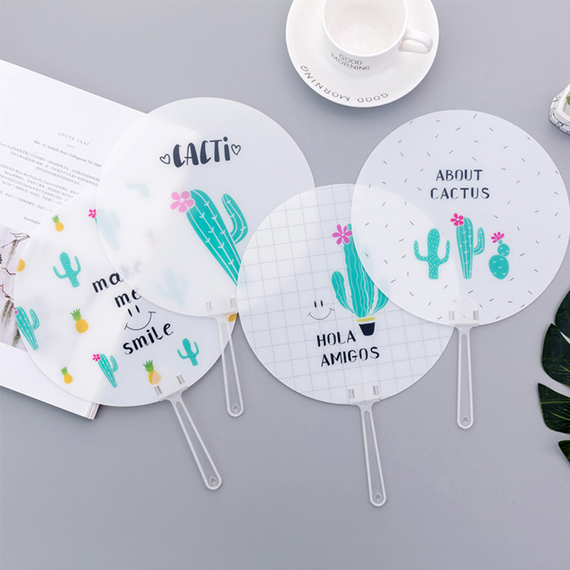 Hand Fan Cute Mini Travel Portable Small Fan Ice Cream Shape Folding Cloth Fan Folding Fan Japanese Style