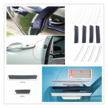 car auto Side Door Edge Protective Strip Scrape Bumper Guards for BMW E34 F10 F20 E92 E38 E91 E53 E70 X5 M M3 E46 E39 E38 E90 image