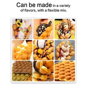 Image 5 - WantJoin جهاز عمل الفقاعات الكهربائية آلة صنع الكعك آلة Wafflea البيض لفة فقاعة Wafflea مخروط المهنية الوافل صناع