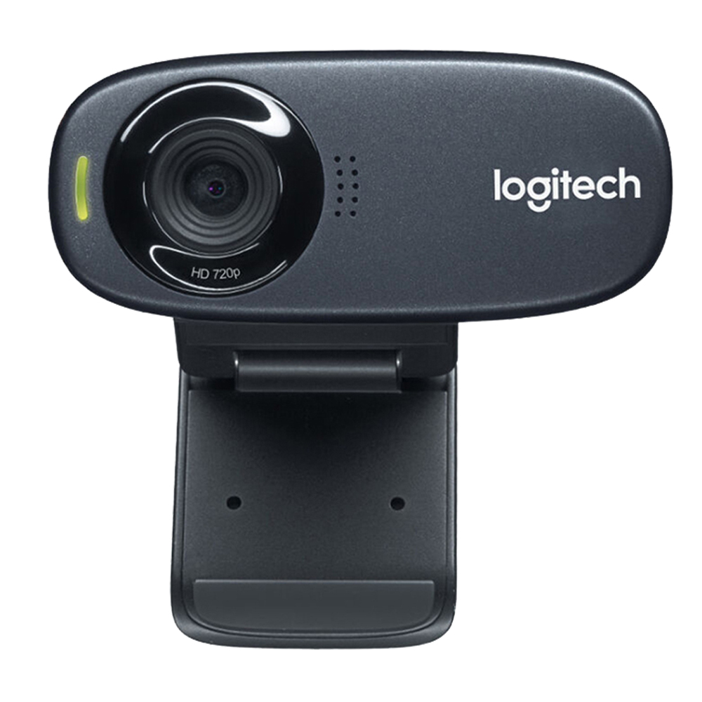 Logitech Webcam C310 HD 720P Stereo Computer PC Laptop Web Camera Built-in Microphone For Webcast Live Video Conference Calling