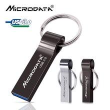 USB 3.0 Metal Flash Drive 32GB 64GB 128GB key chain Pendrive Waterproof usb Pen 16GB USB Memory Stick Flash Disk High Speed 3.0
