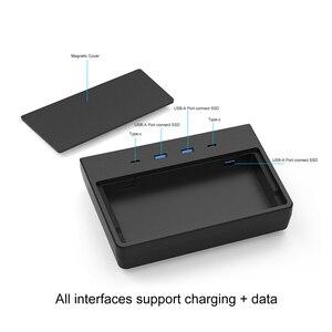 Image 4 - สำหรับ Tesla รุ่น3ชาร์จไร้สาย Pad USB Hub 5/6พอร์ต SSD Disk Sticks คอนโซลกลางชุดหน่วยความจำอุปกรณ์จัดเก็บข้อมูล tesla