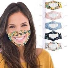 Mascarillas transparentes para sordos y sordos, respirador, cubierta para la boca, accesorios para fiesta, Cosplay, #30