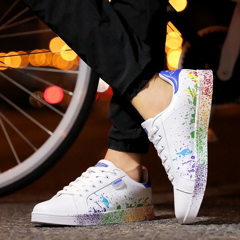 Unisex Skateboard Shoes Men Women Outdoor Flats Sneakers Couple Shoes (32)