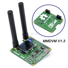 Nouveau point d'accès + antenne Duplex V1.3 MMDVM_HS_Dual_Hat MMDVM avec/sans Support OLED P25 DMR YSF NXDN(China)