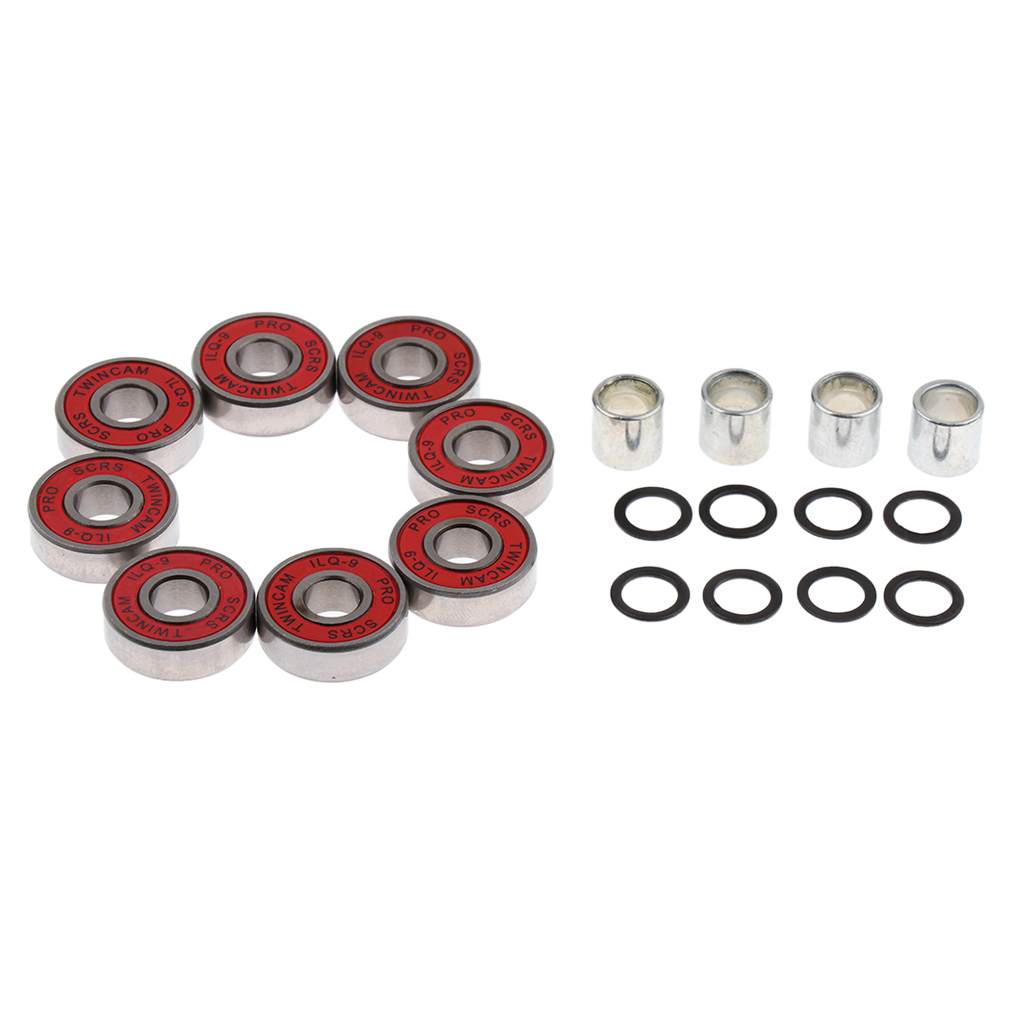 Skateboard Speed Kit- Bearing Spacers And Speed Washers Skate Board & Accessories