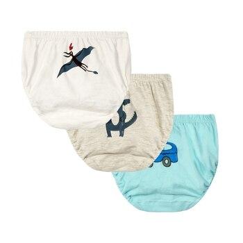 3pcs/set Baby Boys Girls Cartoon Training Cotton Panties Newborn Cotton Soft Panty Brief Underwear Children Panty Kids Underpant