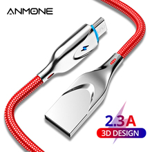 ANMONE Micro USB Type-C Cable 2.3A Charging Charger Cord for Samsung S8 S10 S9 Q