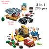 Disney's new car story series saetta McQueen's speed training building block modello set regalo giocattolo per bambini