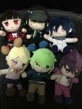 Novo danganronpa v3 boneca de pelúcia saihara ouma harukawa kaito momomota harukawa maki rantaro amamietc lote jogo coleção 5 estilos