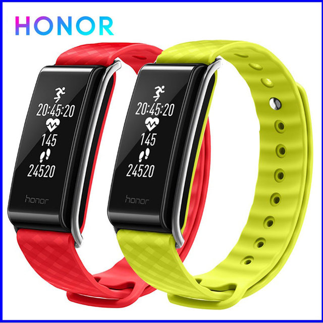 Honor Color Band A2 Smart Wristband Fitness Bracelet Band IP67 OLED Message Heart Rate Clock Waterproof Activity Tracker